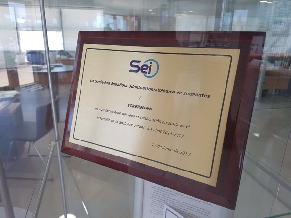 Eckermann awarded by SEI 2017