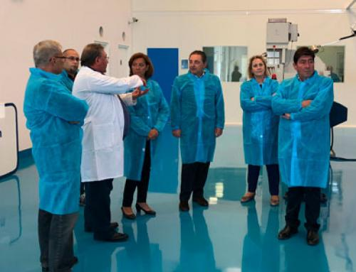Mayor of Almoradí visit Eckermann