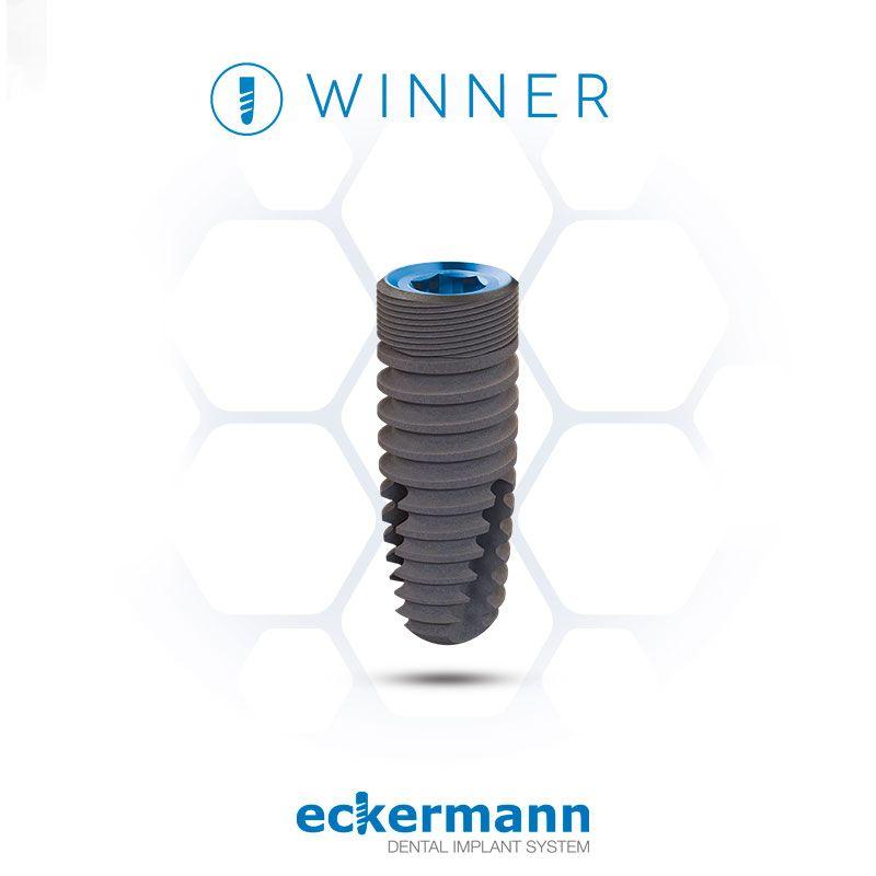 Winner. El implante de conexión interna hexagonal de Eckerman