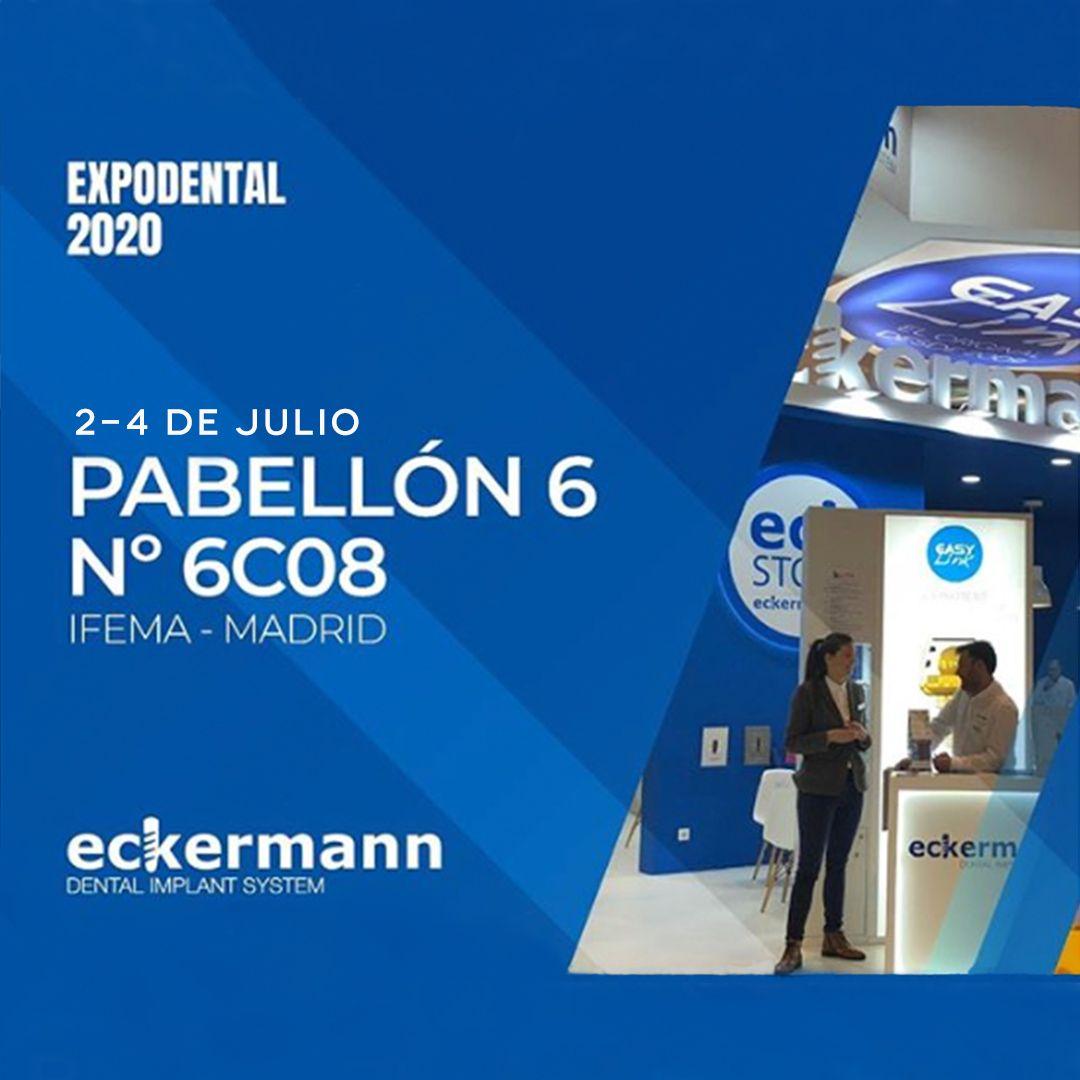Expodental 2020 Pabellón 6 Nº6C08 Eckermann